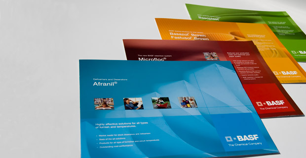 4 Colour Brochure Set For Basf Scanagraphic Print And Design